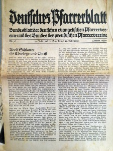 Professor McNutt's extensive research while on sabbatical in Germany resulted in taking many photos of manuscripts from the period, which he then intensely studied for insight into Schlatter's message.